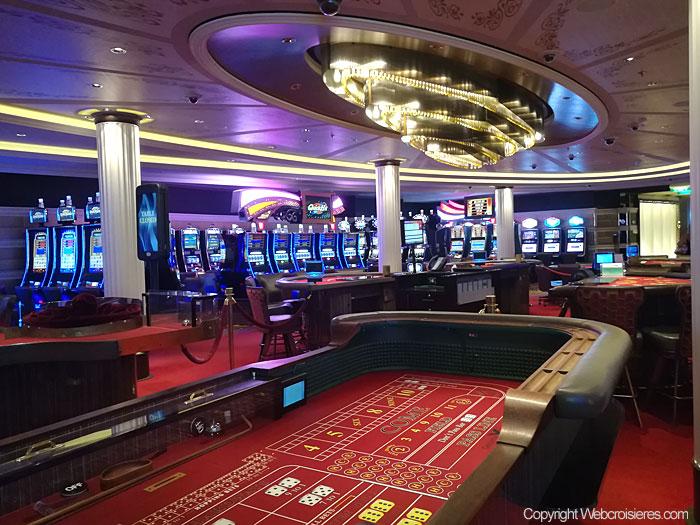 Vu sur le casino du Celebrity Reflection
