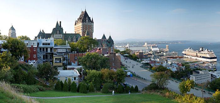Point de vue sur Québec ville