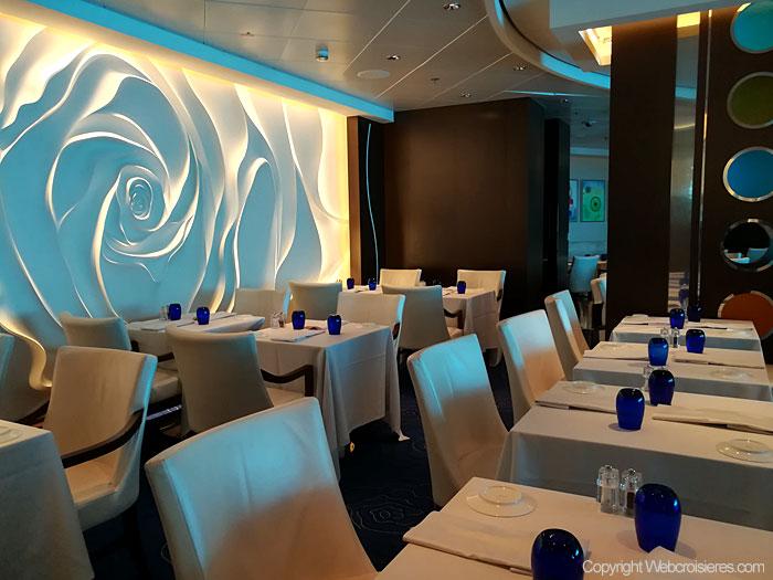 Le restaurant Blu