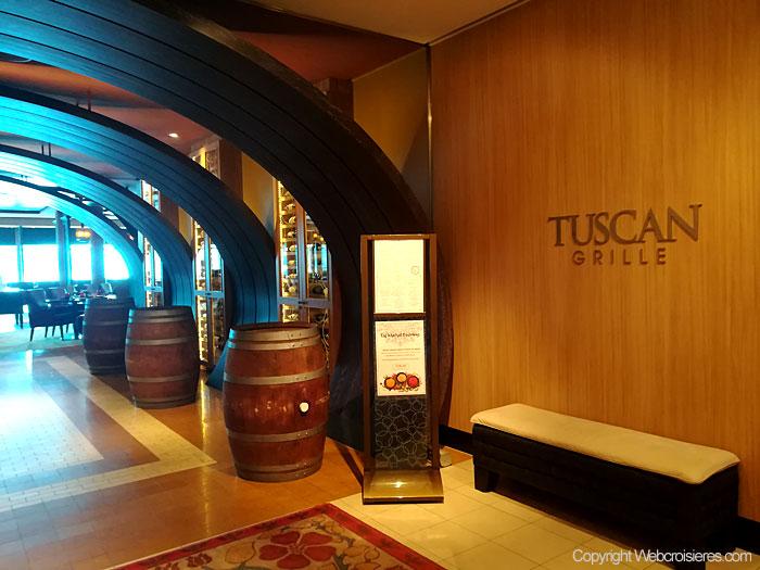 Le restaurant italien Tuscan Grille