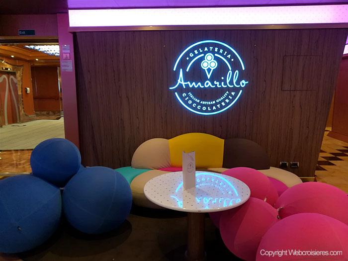 Amarillo vous propose des glaces italiennes