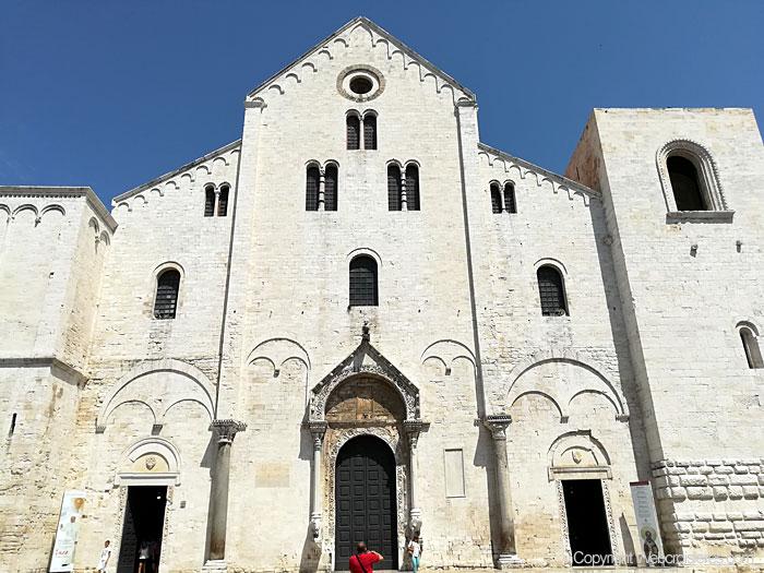 La cathédrale San Nicholas de Bari