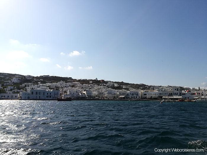 Au large de Mykonos