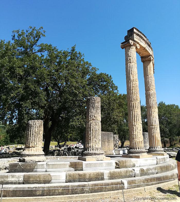 Le site archéologique d'Olympie