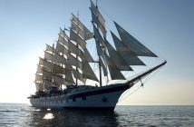 Le Royal Clipper sous voiles