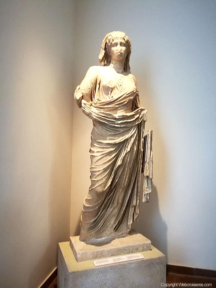 Statue à voir sur le site d'Olympie