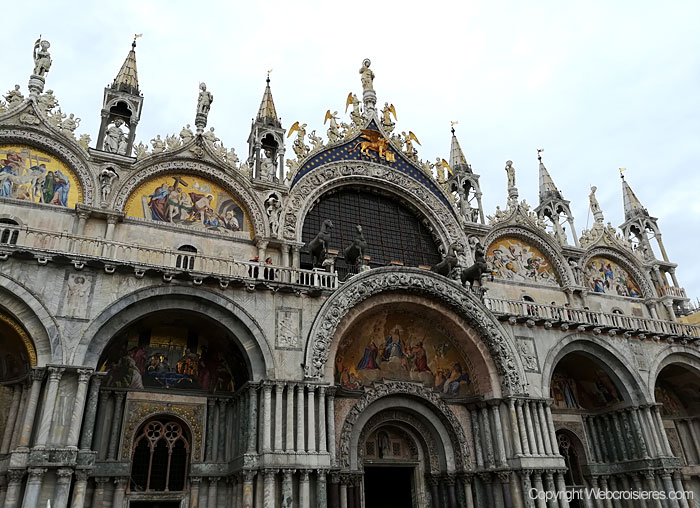 Photo prise sur la place San Marco