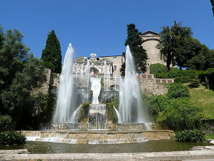 Villa d'Este à Rome