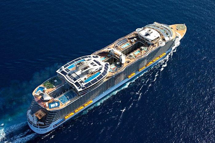 L'Oasis of the Seas en mer
