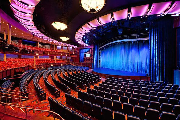 Le théâtre de l'Oasis of the Seas
