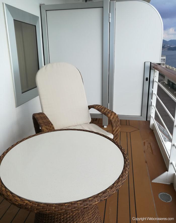 Le balcon d'une suite...