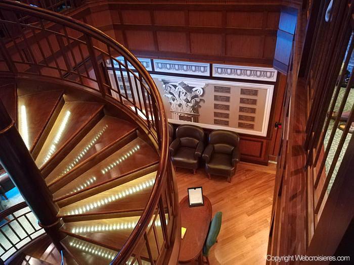Escalier de la bibliothèque