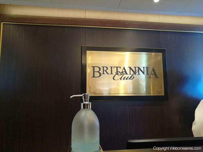 Enseigne du Britannia Club