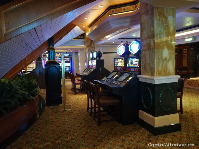 Le casino du Queen Victoria