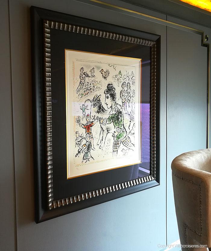 Ainsi qu'un Chagall...