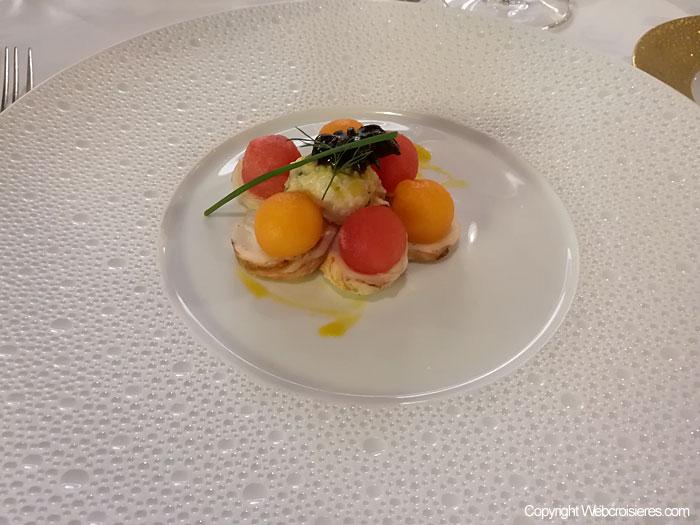 Les médaillons de homard
