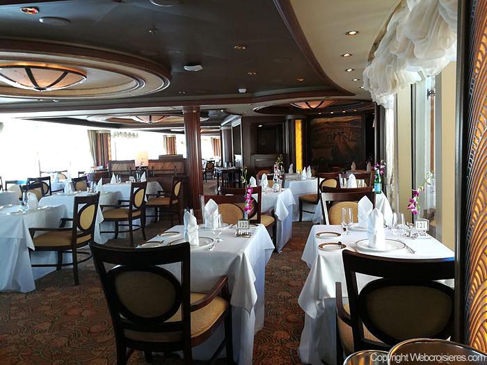 Le restaurant Princess Grill du Queen Victoria