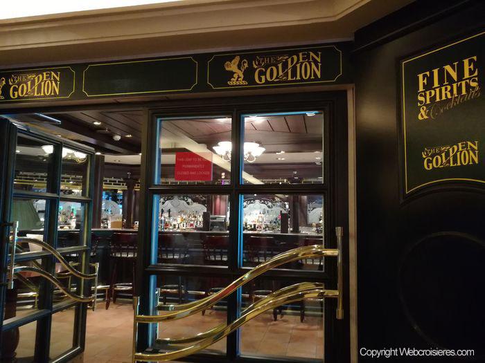 Le pub Golden Lion du Queen Victoria