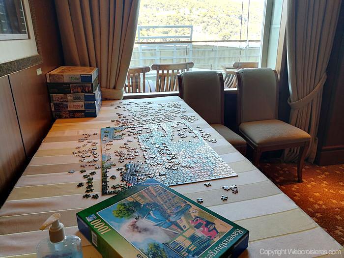 Un puzzle présent sur le Queen Victoria