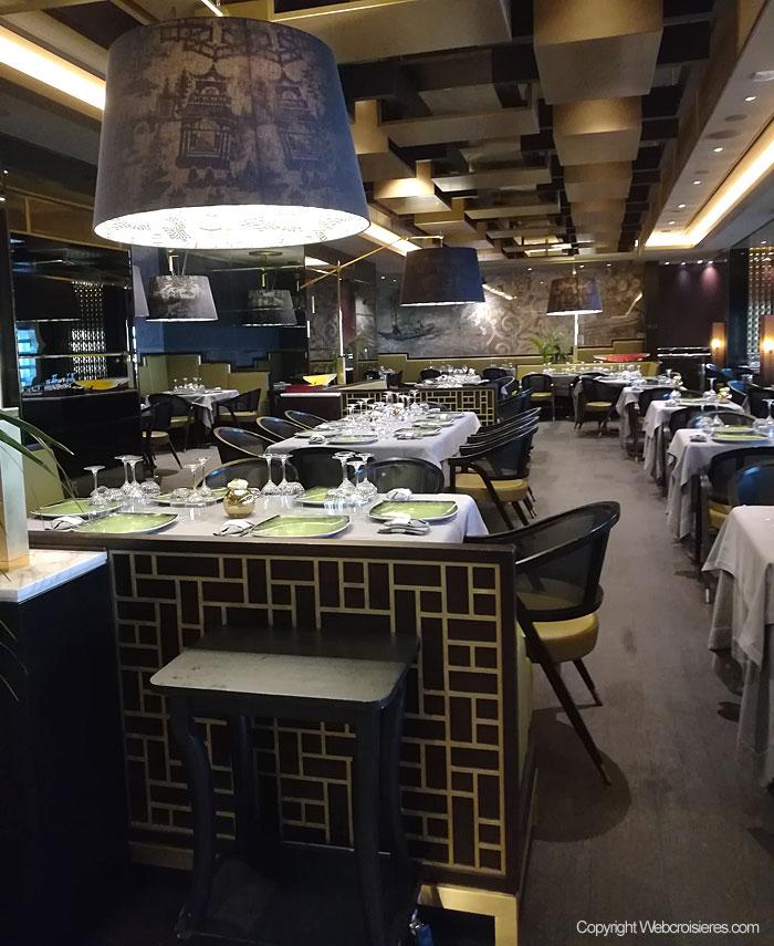 Le restaurant asiatique Pacific Rim