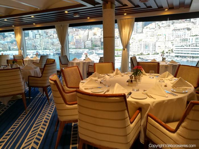 Tables du restaurant La veranda