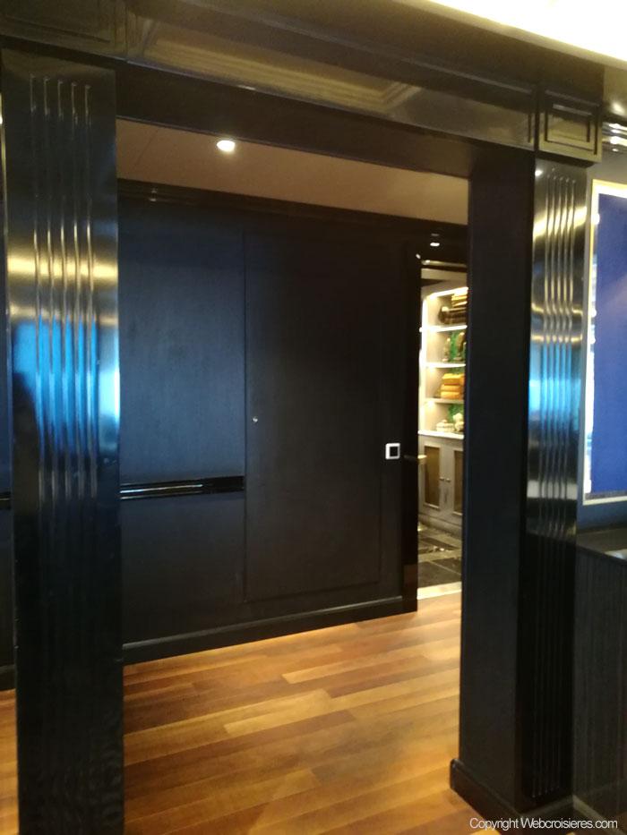 L'espace salle à manger privé