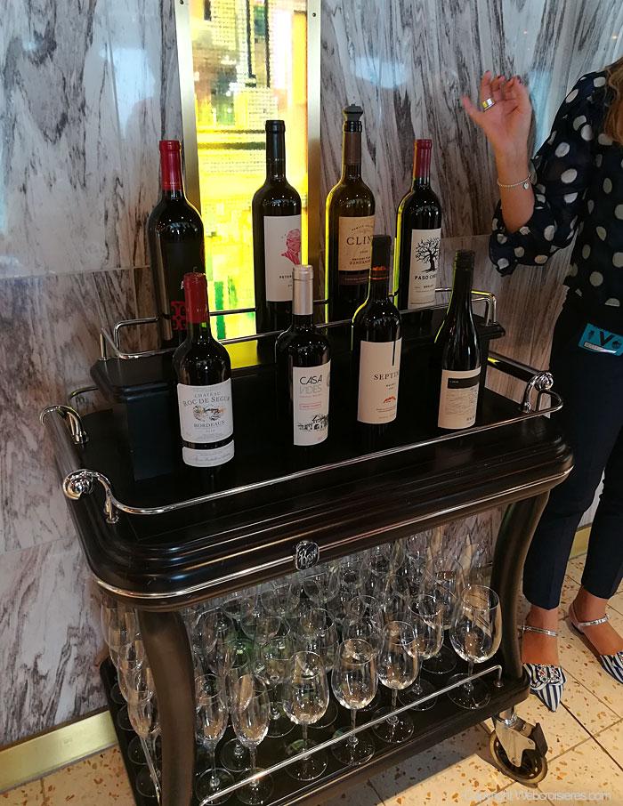 Quelques bouteilles de vins disponibles...