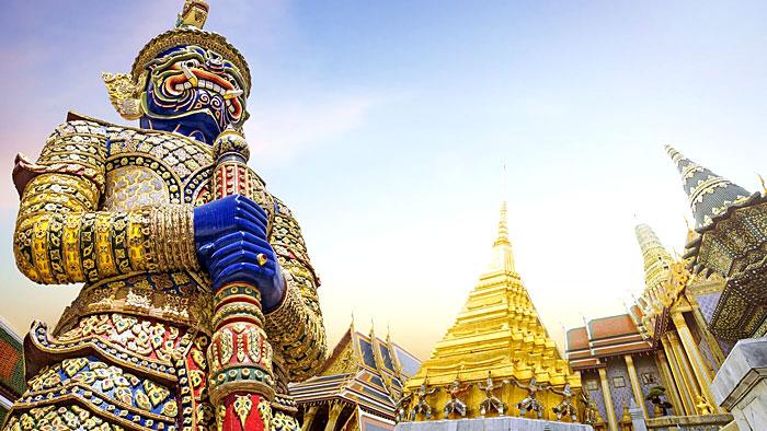 Temple présent dans la ville de Bangkok