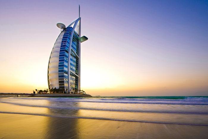 Le Burj-Al-Arab à Dubaï