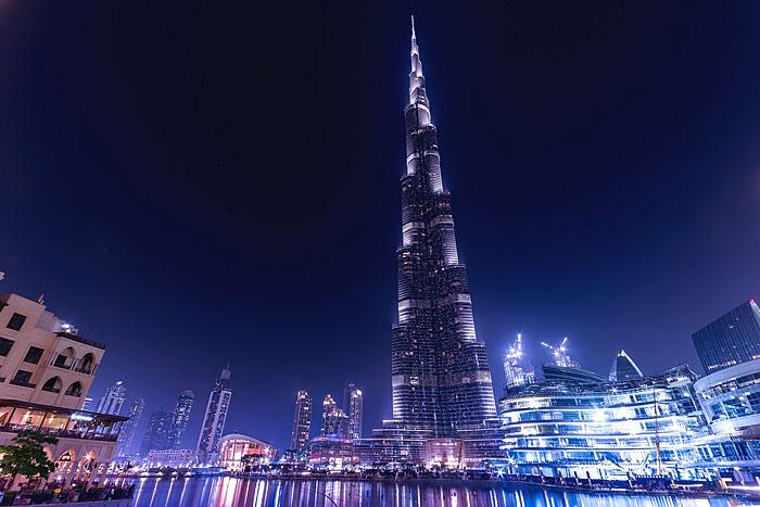 La Tour Burj Khalifa à Dubaï