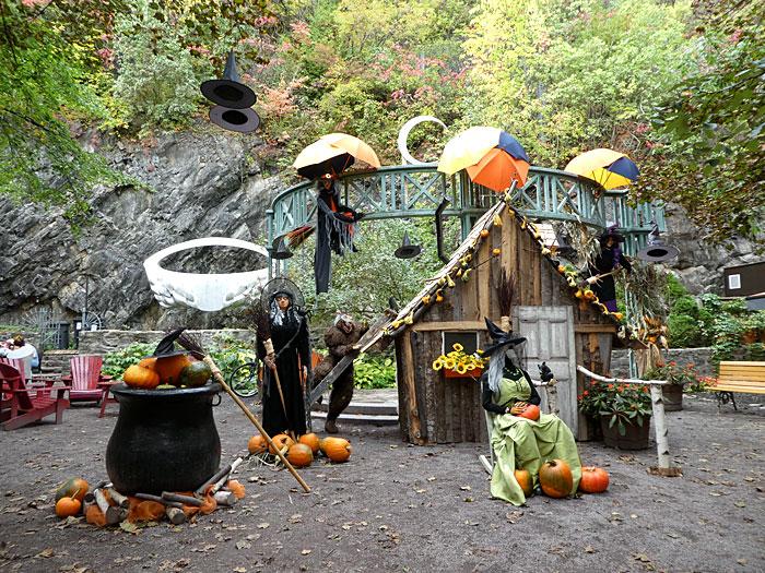Un des sites dédiés à Halloween