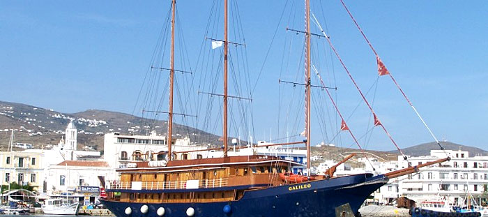 Le Yacht de luxe M/S Galileo