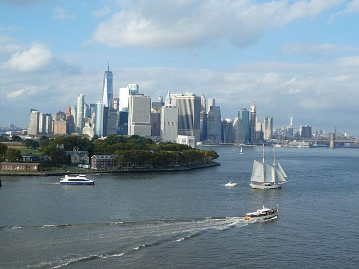 Départ de Manhattan (18 :00)