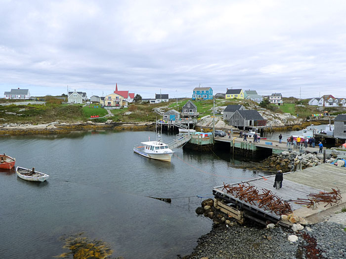 Port de pêche de Peggy's Cove