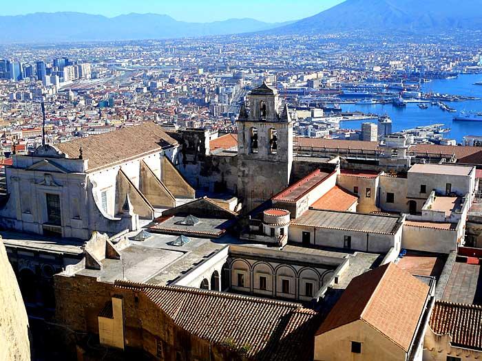 La ville de Naples