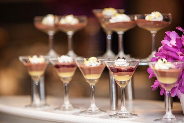 Quelques desserts disponibles à bord du Silver Moon