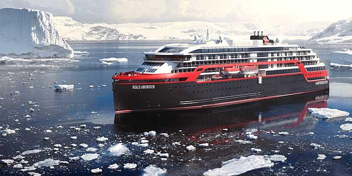 Le MS Roald Amundsen
