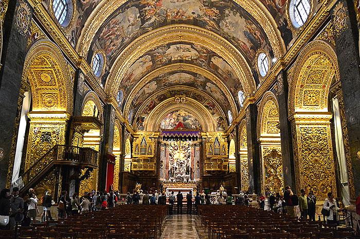 La Co-cathédrale Saint Jean de La Valette