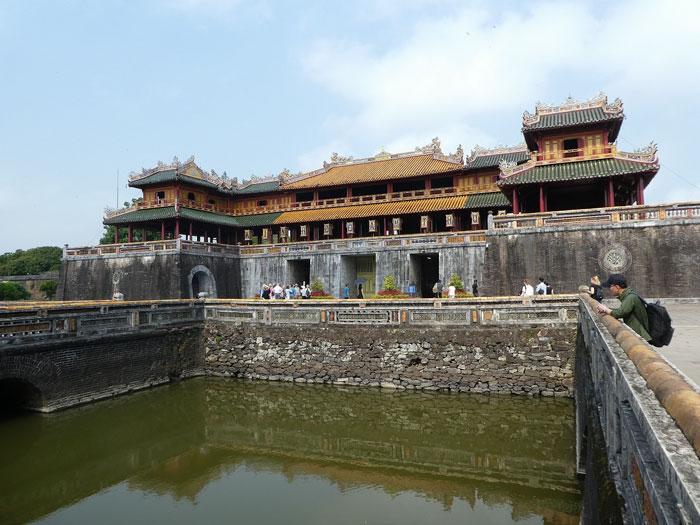 Entrée principale de la cité impériale d'Hué