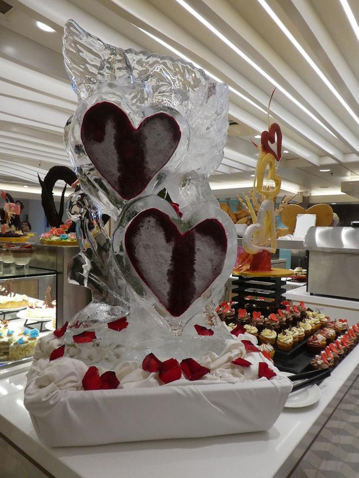 Buffet de chocolat pour la Saint Valentin