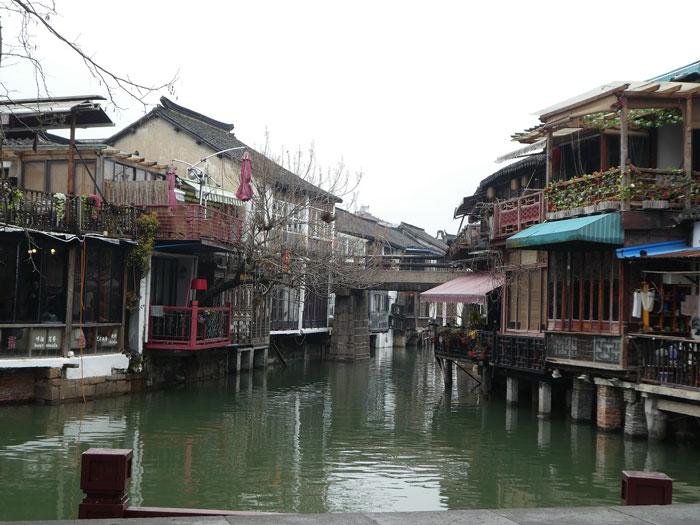 Modestes maisons d'habitation à Zhujiajiao