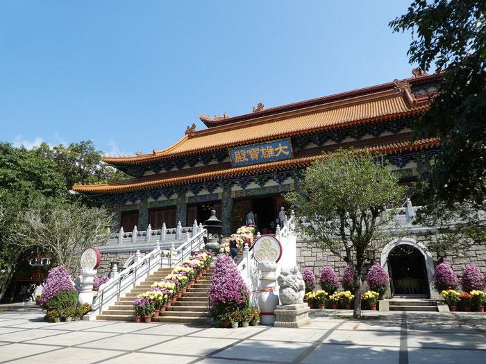 Monastère de Po Lin à Lantau