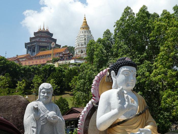 Vue générale du temple Kek Lok Si
