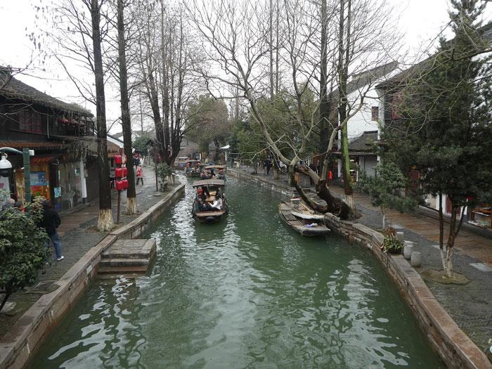 Canal principal à Zhujiajiao