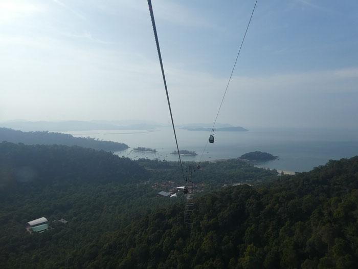 Montée vers le Machinchang (1'000 mètres)