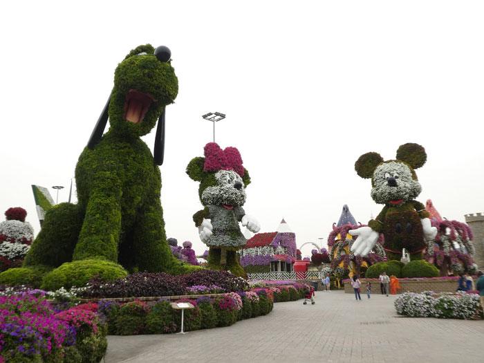 Rencontre avec Disney au Miracle Garden