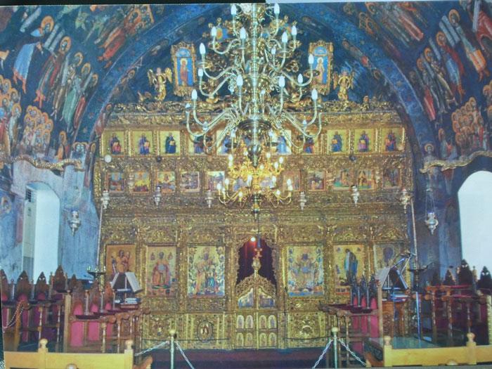 Intérieur de la cathédrale St. Jean de Nicosie