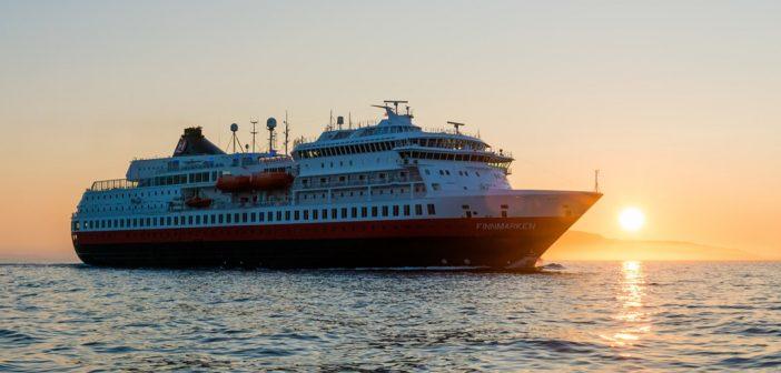 Le Finnmarken, prochain navire de la flotte Hurtigruten a être rénové en bateau hybride