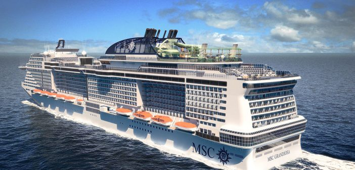 le MSC Grandiosa, futur paquebot le plus écologique de la flotte