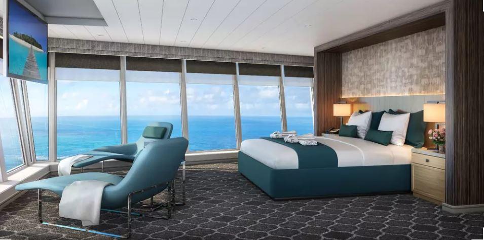 Les Cabines panoramiques sur l'Oasis of the Seas